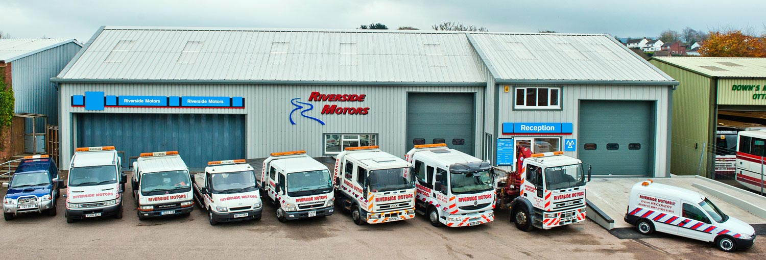 Breakdown Fleet -Riverside Motors - Ottery St Mary